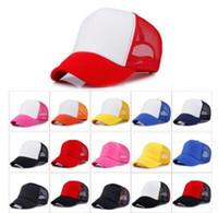 20 Renkler Trucker Kap Yetişkin Örgü Kapaklar Boş Trucker Şapka Snapback Şapka Özel Made Logo Kabul