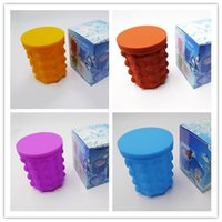 5 Colors Silicone Ice Cube Maker The Revolutionary Space Sav...