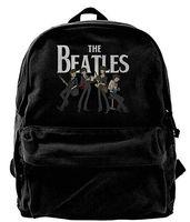 166ee47f5c6 The Beatles Canvas Backpack School Mochila de viaje Mochila para portátil  Mochila para portátil Negro
