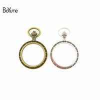 BoYuTe (20 Pieces Lot) 30MM Cabochon Base Vintage Frame Zinc...