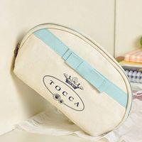 2018 أزياء العلامة التجارية حالة تجميلية ماكياج المنظم حقيبة الجمال أدوات الزينة غسل حقيبة مخلب محفظة حمل بوتيك هدية VIP بالجملة