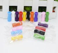 510 Bocchino in silicone Cover Drip Tip Monouso in silicone colorato Tappi per test in gomma Breve test Test Tester Cap