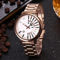 new Ultra thin rose gold woman diamond flower watches brand ...
