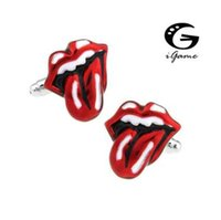 iGame Gemelli Colore Rosso novità Big Mouth Roccia Hiphop di trasporto di stile