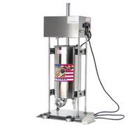 Máquina automática eléctrica de churros comercial Máquina de buñuelos españoles Máquina de bocadillos populares Gran capacidad 15L Maker Churros