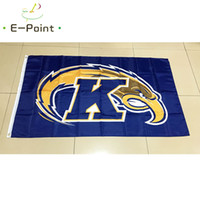 NCAA Kent State Goldene Blitze polyester Flagge 3ft * 5ft (150cm * 90cm) Flagge Banner dekoration fliegen hausgarten geschenke im freien