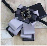 Collar del cuello del desgaste del banquete de boda de negocios nueva unisex del pañuelo Accesorios informal novio Rhinestone pajaritas