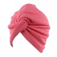 مسلم جديد المرأة فقاعة القطن الصليب ستريك الكيماوي قبعة قبعة عمامة الرأس التفاف كاب للسرطان