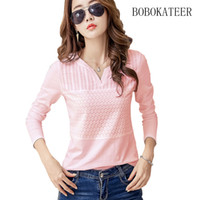 BOBOKATEER plus size womens tops and blouses blusas mujer de...