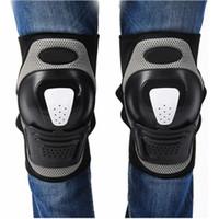 1ペア調整可能なニーザアッドサポートプロテクターブレース保護ギヤ安全ガードストラップサイクリングバイクスケートボード