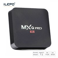MXQ Pro Android 7.1 TV Box Amlogic S905W / RK3229 1 GB 8 GB 4 K Quad Core WiFi Streaming Media Player Smart Boîtes Mieux TX2 x96 mini
