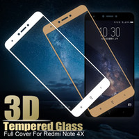 Full Screen Protective Tempered Glass For Xiaomi Redmi Note ...