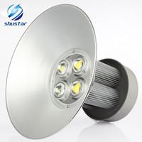 Lumière LED haute baie industrielle 85-265V 50W 100W 150W 200W Approuvée conduit vers le bas lumières PROJECTEUR éclairage station LED Downlight éclairage de la canopée
