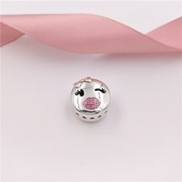Valentine Day Gift 925 Sterling Silver Beads Playful Wink Ch...