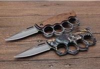 hot sell Knuckle folding knife X71 2 styles 3Dpicutre of sur...