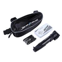SAHOO 15 in 1 Fahrrad Radfahren Multifunktionale Reparatur Werkzeuge Reifen Reifen Kleber Patch Pump Kit mit Tasche