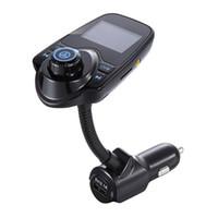عدة السيارة بلوتوث الأيدي الحرة وزير الخارجية الارسال مشغل موسيقى MP3 5V 2.1A USB شاحن سيارة بلوتوث AUX سيارة مكبر الصوت