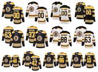 Özelleştirilmiş Boston Bruins Jersey Brad Marchand David Pastrnak Mutlu Gilmore Spooner Bergeron David Backes Kevan Miller Krejci Hokey Dikişli