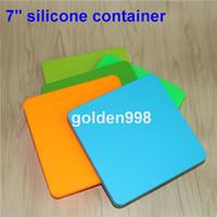 Contenitori in cera antiaderente vaschetta in silicone da 200ml vaschetta per alimenti in silicone