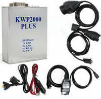KWP2000 ECU Plus intermitente para BMW KWP 2000 Plus para Benz Herramientas de diagnóstico automotriz sintonizador Tuning OBD KWP2000 + herramienta de programación