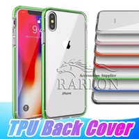 New Arrival Shockproof Clear Slim Fit Flexible TPU Back Pane...