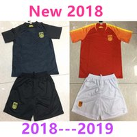 Nuevo 2018 China National Team Soccer Jersey Home Away Evergrande Home Away 18 19 Juego de fútbol Set rugby jerseys