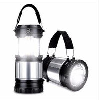 Portable Lantern Solar Camping Lamp Outdoor USB LED Collapsi...