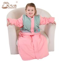 Infant Sleeping Bag Spring 100% Cotton Thickening Warm Baby ...