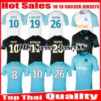 2018 2019 Olympique De Marseille camiseta de fútbol 18 19 maillot PAYET  Camisetas THAUVIN GUSTAVO GOMIS 428e3318d23ee