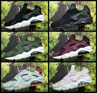 Air Huarache ID Custom Running Shoes For Men Women Red Blue ...