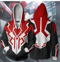 Nouveau Mode Couples Unisexe Spider-Man Cosplay Impression 3D LoveMarvel Sport Zipper Zip Up Hoodies Veste Top
