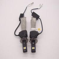 80WLED H1H4 H7 H11 9006 9005 9007 Faro kit Hi / de luz de cruce Bombillas 6000K HighPower