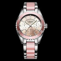 Luxurious Brand Fashion Quartz dive Watch Pink Women Diving ...