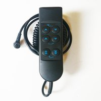 ستة أزرار الهاتف مقبض التحكم عن بعد مزدوجة المحركات الكهربائية سرير معدني الإطار مؤسسة قاعدة ارتفاع قابل للتعديل فراش رفع رفع رئيس أقدام