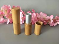 Ücretsiz kargo yüksek kalite 12.1mm bambu ruj tüp / ruj konteyner / şişe