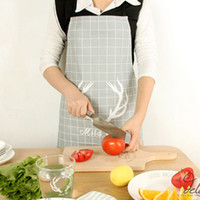 ZAKA Nordic Style Grey Antlers Kitchen Aprons - Cotton Onesi...