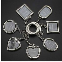 Photo Frame Lovers key Chain - Fashion Creative love keychai...