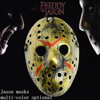 Хэллоуин маска Фредди против Джейсона маскарадные маски террорист Рождество выполняя Джейсон маски маскарад фестиваль одеваются