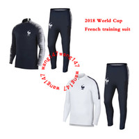 2018 World Cup SOCCER jacket FRANCE tracksuits POGBA GRIEZMA...