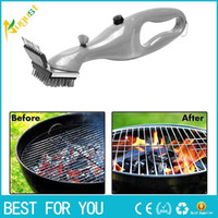 Hot sale Stainless Steel Grill Cleaning Tool BBQ Brush Outdo...