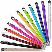 ipad iphone 6 7 8 samsung tablet pc için 1 Tükenmez Kalem Dokunmatik Ekran Kalem Muti-fuction Kapasitif Stylus Dokunmatik kalem 2