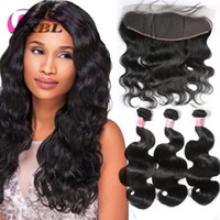 8a Brazilian Body Wave Hair With Closure 3 Bundles Unprocess...