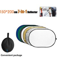 Tycipy 150*200CM 7 in 1 Photography Portable Oval Shape Refl...