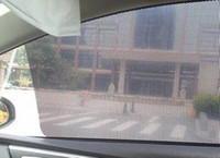 Черный автомобиля окно солнце оттенков пленки крышка сетки козырек зонтики стикер PVC для окна крышки фары