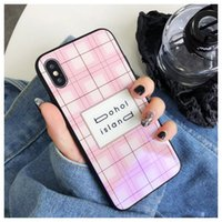pink Mirror glass champion Blu- ray cover for iphone 6 7plus ...