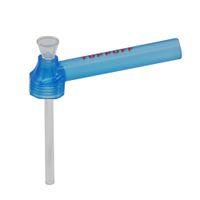 Neue Arrivel Portable Wasser Rauchrohr Schraube auf Flasche Konverter Toppuff mit Glas Wasser Puff Flasche VS Glas Wasser Bong