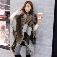 8 Design Women Scarf Contrast Color Bevel Scarves 200*70CM A...