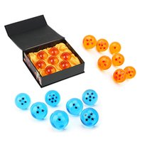 7 Crystal Dragon Balls Z Toys 3. 5cm New In Box 7PCS Dragon B...