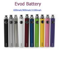 EVOD Batterie 650/900/1100 MAH VAPE Stift variable Spannungsbatterien Kapazität für 510 Thread MT3 CE4 Protank Zerstäuber E Zigarette