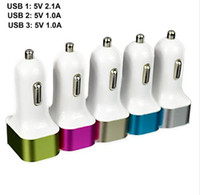 NEW Triple USB Universal Car Charger 3 Port Car- charger Adap...